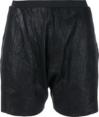 Olsthoorn Vanderwilt Shorts de couro - Preto