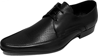 Ikon Original Mens Jam 60s Mod Shoe Black/White 11 UK/45 EU
