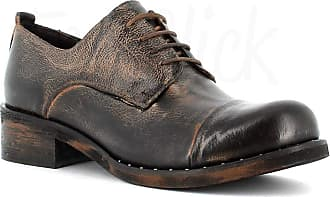 Generico Made in Italy Stringed Leather Shoes - Brown Brown Size: 6 UK