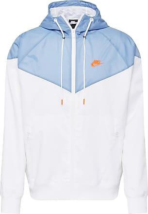 Nike Jacke hellblau / weiß