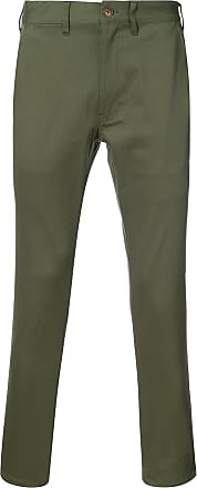 321 Calça chino cropped - Verde