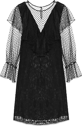 See By Chloé Lace and cotton-blend dress
