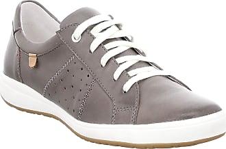Josef Seibel Women Lace-Up Flats Caren 01, Ladies Casual lace-up,Trainer,Sneaker, Low Shoe,lace-up Shoe,Street Shoe,Derby Lacing,grau,44 EU / 9.5 UK