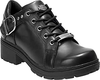 eac0097949c5 Harley-Davidson Womens Rovana 3-Inch Casual Ankle Boots D84407 (Black