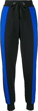 No Ka'Oi Pantaloni sportivi con design color block - Di colore nero