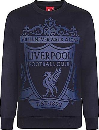 Herren Fleece-Sweatjacke Geschenk f/ür Fu/ßballfans Offizielles Merchandise Liverpool FC