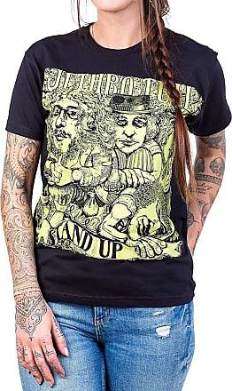 Bandalheira Camiseta Jethro Tull Stand Up Feminina