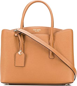 Kate Spade New York Bolsa transversal Margaux com tag - Marrom