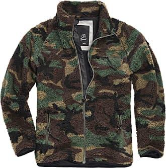 Brandit Teddy Fleece Jacket - Multicolour - X-Large