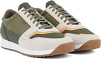 BOSS Running-style trainers in mixed materials