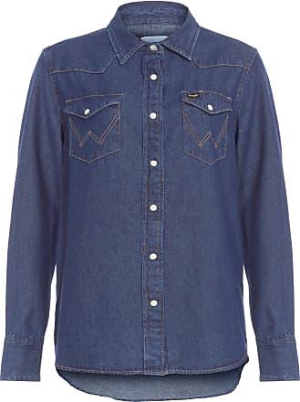 Wrangler Camisa Jeans - Azul