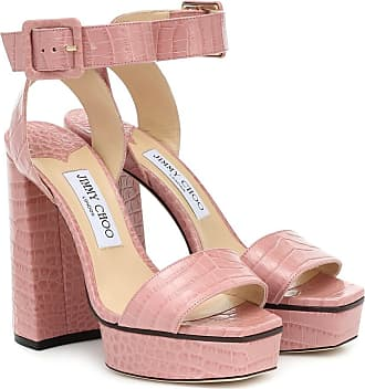 Jimmy Choo London Jax 125 leather platform sandals