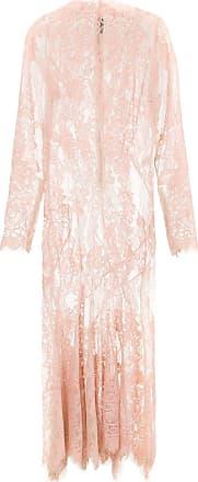 À La Garçonne Vestido midi em renda com recortes - Rosa
