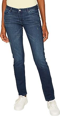 EDC by Esprit Womens 999cc1b807 Slim Jeans, Blue (Blue Dark Wash 901), W32/L30 (Size: 32/30)
