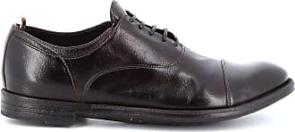 Officine Creative Fashion Man OCUARC501IGNISD215T Brown Leather Lace-up Shoes | Spring Summer 20