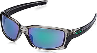 Oakley Mens Straightlink Non-Polarized Iridium Rectangular Sunglasses, GREY INK, 61.0 mm