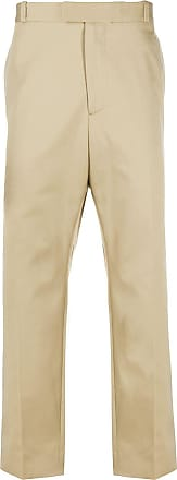 OAMC high-rise straight-leg trousers - NEUTRALS
