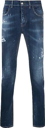 Frankie Morello Calça jeans destroyed - Azul