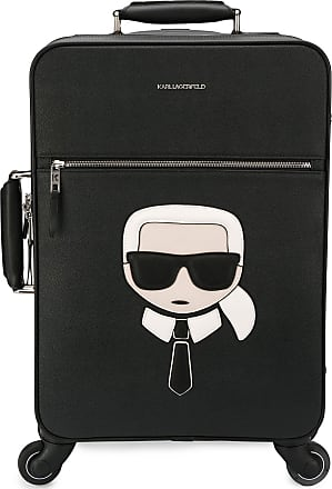 Karl Lagerfeld Mala Ikonik Weekender - Preto