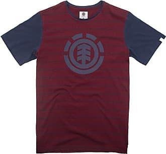Element Camiseta Element Two Colors Vermelho/marinho
