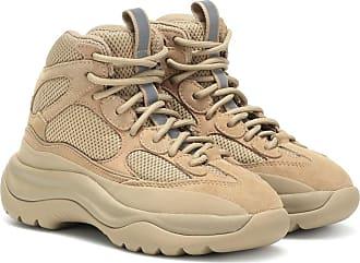 Yeezy by Kanye West Suede-paneled sneakers (SEASON 8)