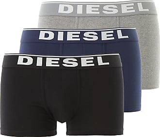65326f2bd950 Diesel Intimo Boxer da Uomo On Sale, 3 Pack, Nero, Cotone, 2017