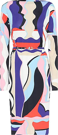 Emilio Pucci Printed silk-blend jersey dress