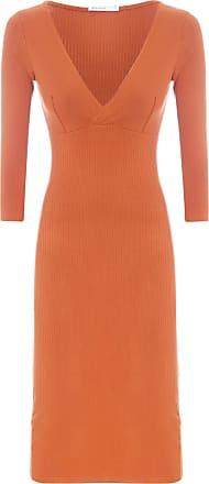 Dress To Vestido Transpasse Básico - Marrom