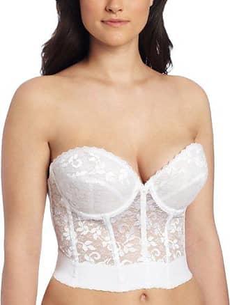 334911da5e Carnival Womens Plus Size Low Plunge Backless Lace Longline Bra