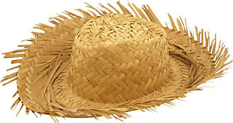 Islander Fashions Islander Fashion Mens Male Straw Beachcomber Hat Gents Hawaiian Fancy Curl Up Edges Hat Accessory
