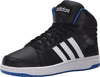 premium selection baed5 8bfb1 adidas Performance Mens Hoops Vs Mid Basketball Shoe,BlackWhiteBlue,11