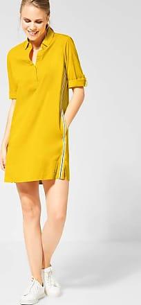 Cecil Blusenkleid mit Galon - ceylon yellow