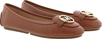 Michael Kors Loafers & Slippers - Lillie Moccasin Luggage - brown - Loafers & Slippers for ladies