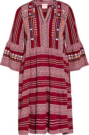 Lieblingsstück Kleid JOLA mit 3/4-Arm - DUNKELROT/ ROSÉ