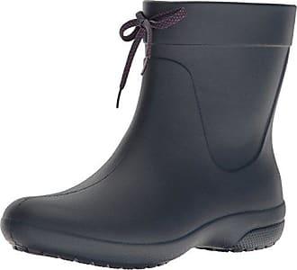 Boots Bleu Bottes Shorty EU 42 Rain Navy Crocs Freesail 41 Femme OtwTqOUA