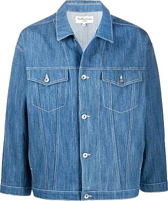 Ymc You Must Create Jaqueta jeans - Azul