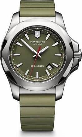 Victorinox by Swiss Army Swiss Army I.N.O.X. 241683.1 Green Analog Quartz Mens Watch