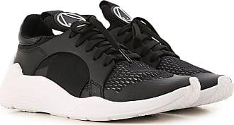 Alexander McQueen Sneakers for Women On Sale, Black, Textile, 2017, 5 6 8