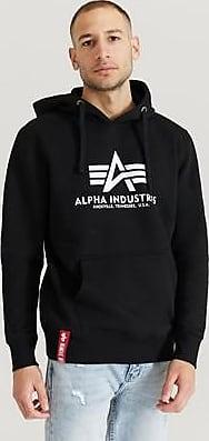 Alpha Industries Hoodie Basic Hoody Svart