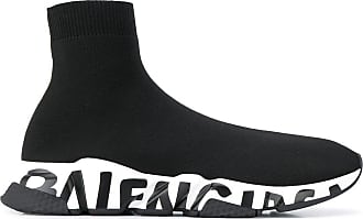 Balenciaga Tênis Speed Graffiti - Preto