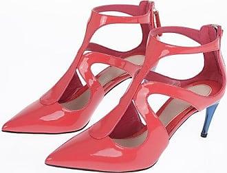 Alexander McQueen 7cm Patent Leather Sandals Größe 38,5