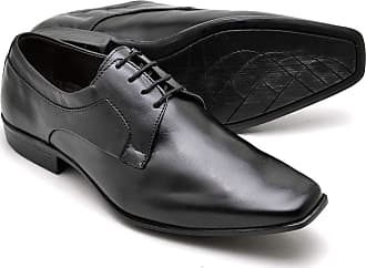 Di Lopes Shoes Sapato Social Masculino em 100% de Couro. (37, Preto)