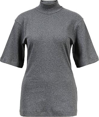 Brunello Cucinelli Jersey-T-Shirt mit 3/4 Ärmeln Grau