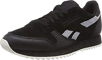 346845823c6d Reebok Classic Leather Ripple SM, Baskets Homme, Multicolore (Black/Cool  Shadow/