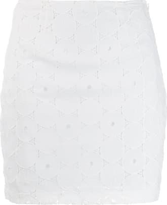 Staud Saia com bordado inglês - Branco