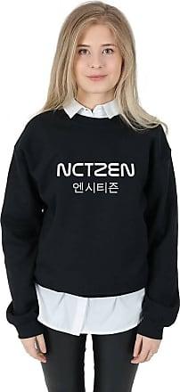 Sanfran Clothing Sanfran - NCTZEN Top Fashion Blogger Kpop NCT Fandom Taeyong Jumper Sweater - Medium/Black