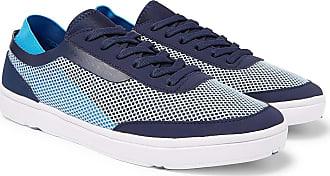 Orlebar Brown Larson Panelled Mesh Sneakers - Blue