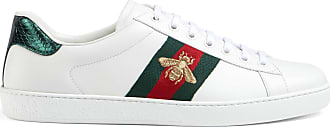 Gucci Mens Ace embroidered sneaker