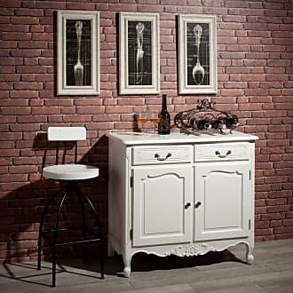 Dekoria Kommode Dorothee mit 2 Schubladen und 2 Türen