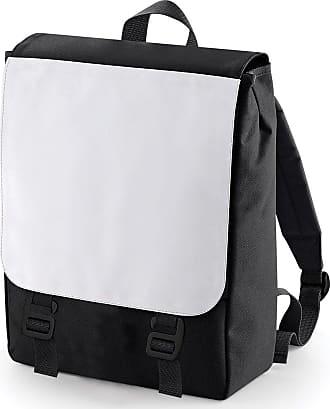 BagBase Plain Backpack - Perfect for Printing Black